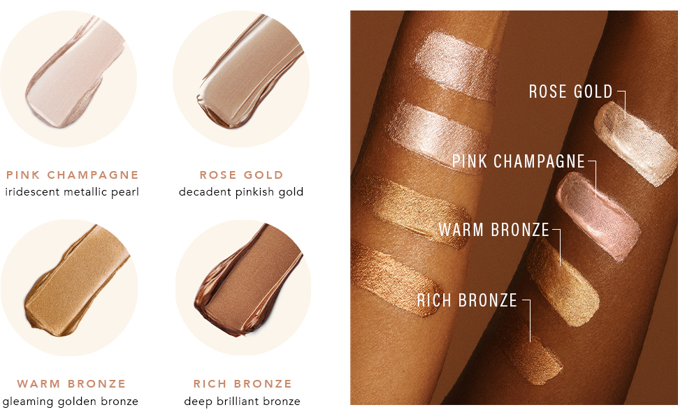 complexion booster swatches