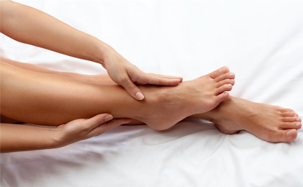 piernas hinchadas que filtran líquidos