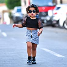 baby girl summer short sleeve t shirt top and skirt