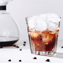 cold brewing to coffee making with a French press green or black tea brewed