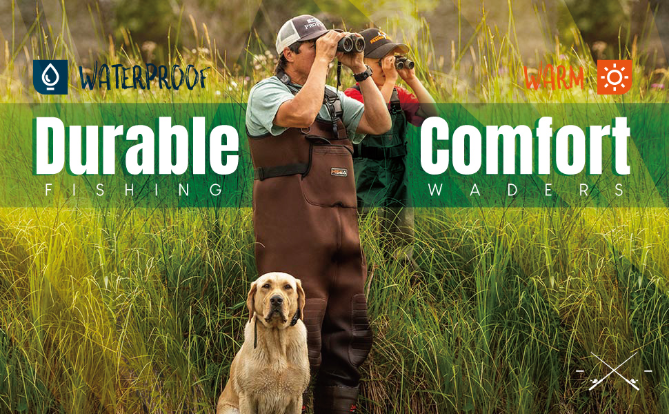 chest waders for men with boots