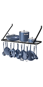 Wall Mounted Pot Rack Click here to Purchase