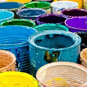buckets clumps particulates