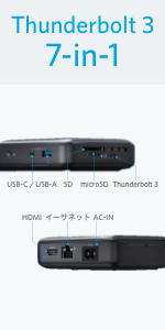 PowerExpand 7-in-1 Thunderbolt 3 Mini Dock