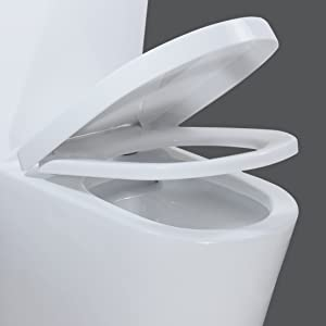WZ5089 One piece toilet with soft closing seat
