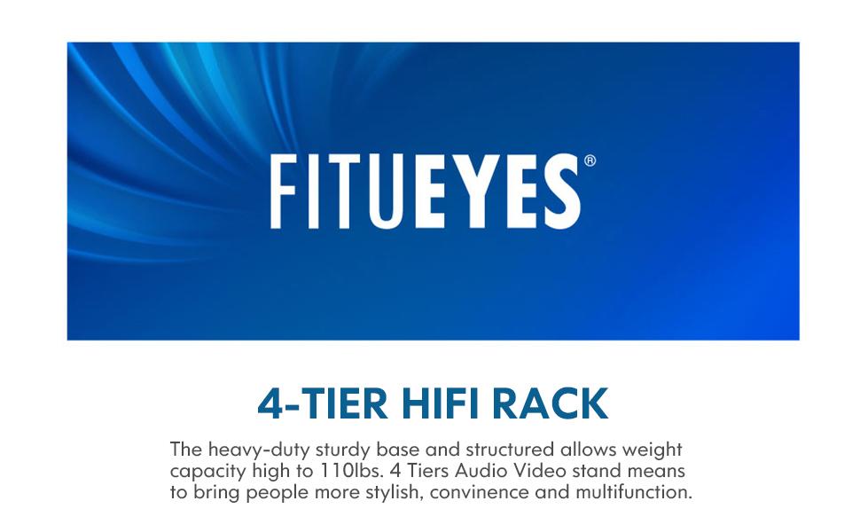 4 - Tier HIFI Rack