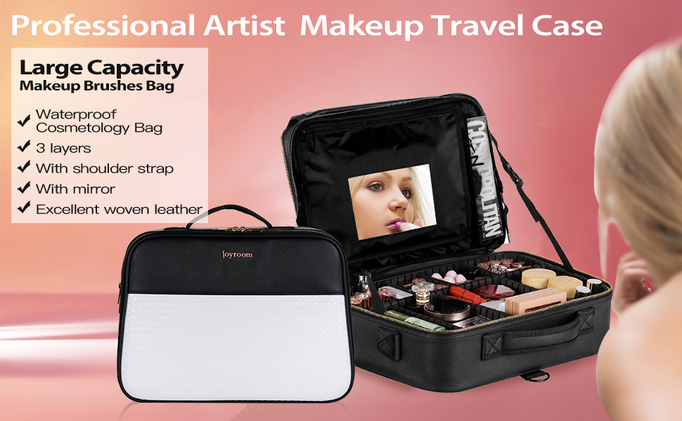 Professional Artist Makeup Travel Case