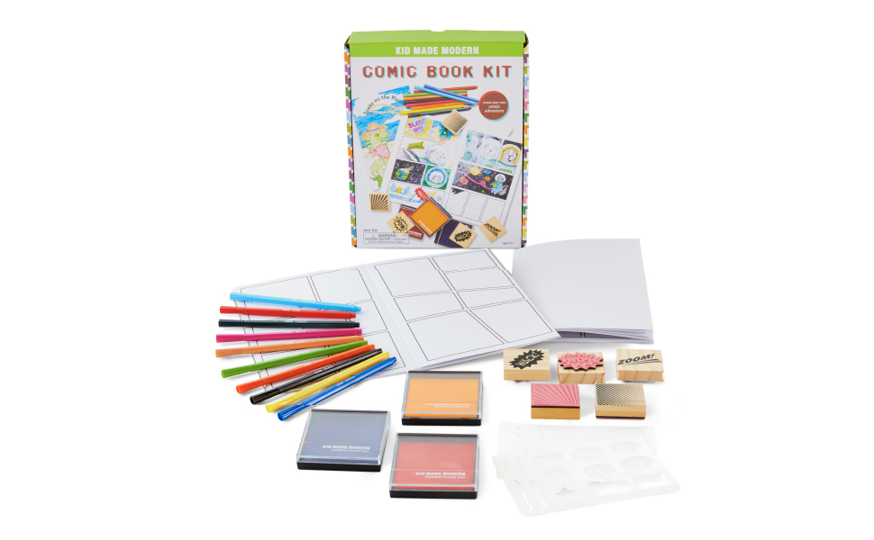 comic book arts and crafts kit