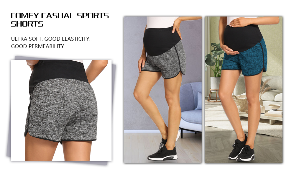 maternity shorts maternity workout shorts maternity shorts for women over belly 搜索关键词