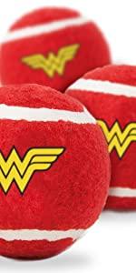 Wonder Woman Tennis Balls for Dogs