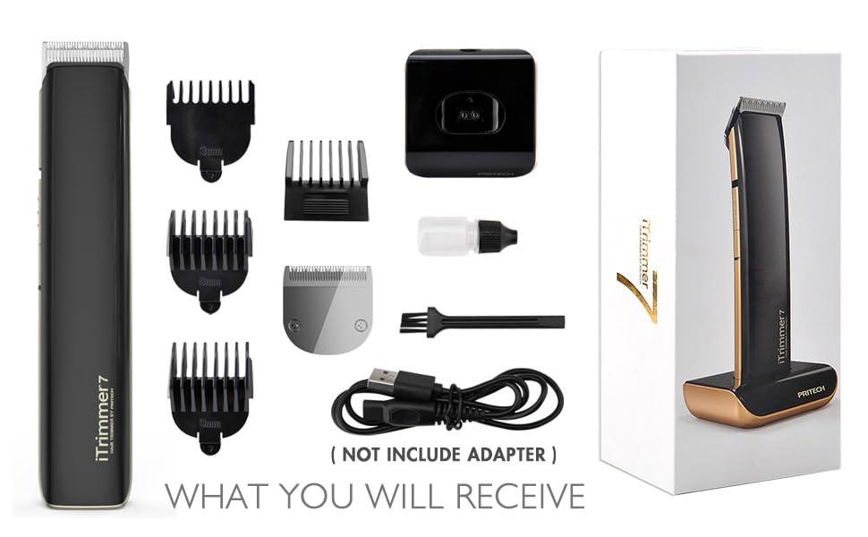 electric beard trimmer for men
