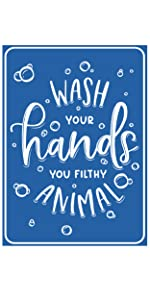 Employees hygiene wash hands corona virus germs sign cleanliness sanitary rules prevent virus wash