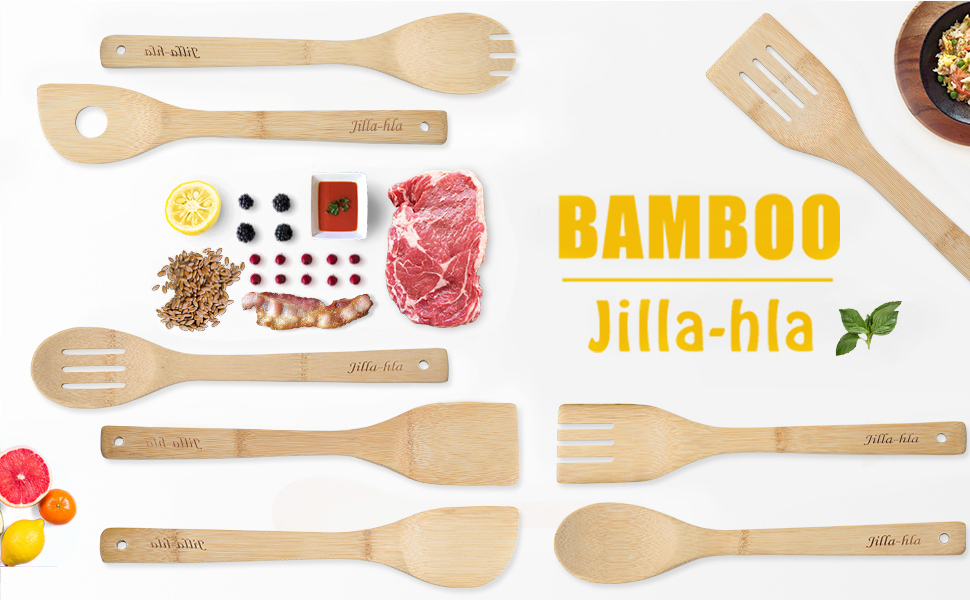 Bamboo Spoons for Cooking