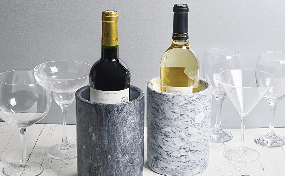 homiu chill cool wine marble granite metal drink wine white rose red champagne