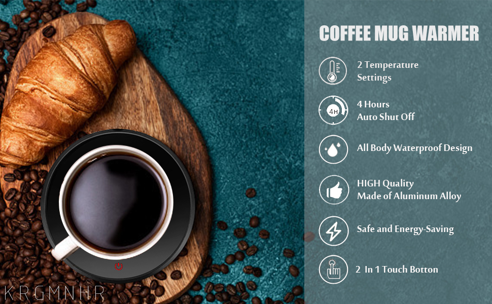 coffee mug cup warmer for home office desk use