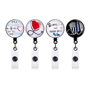 Size Matters Badge Reel Cute Badge SnarkyNurses Retractable Badge Reel IV Nurse Retractable ID Badge Holder