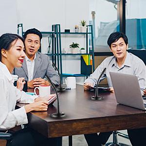 usb mic for online teaching meeting skype speaker with mic usb