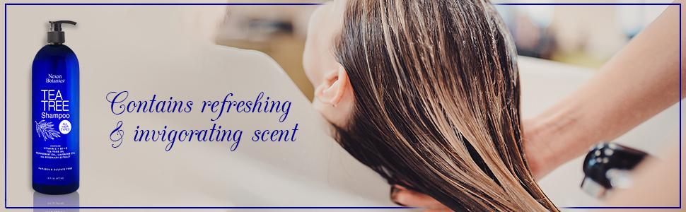 refreshing and invigorating scent