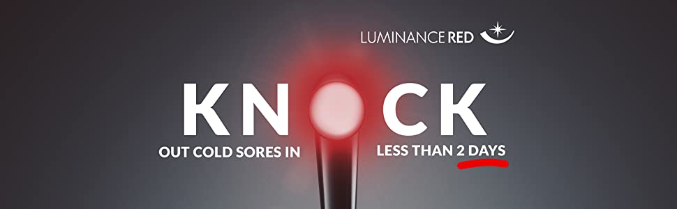 Luminance Red, cold sore treatment, canker sore treatment
