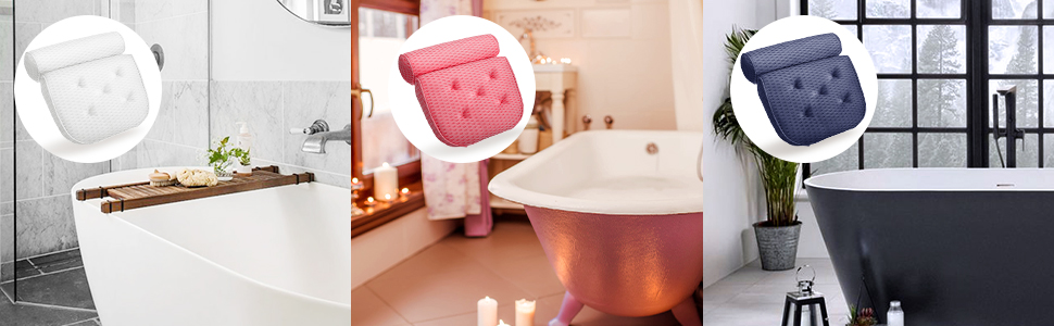 spa pillows for jacuzzi