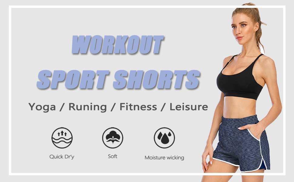 workout sport shorts
