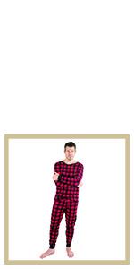 leveret, mens pajamas, kids pajamas, family pajamas