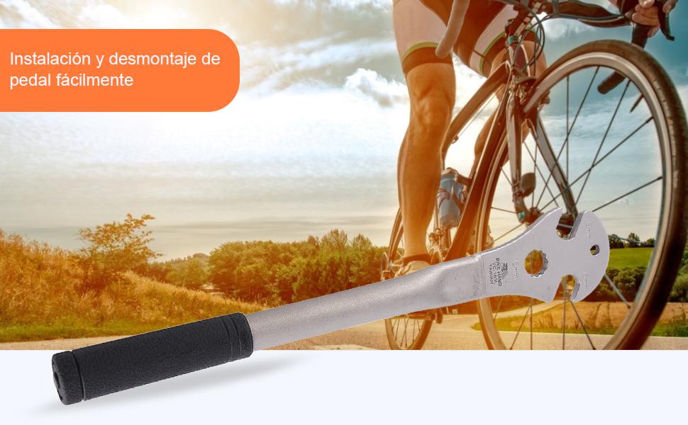 Llave de Ciclismo - Llave de pedal de bicicleta Llave inglesa ...