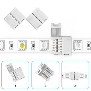 4 x 4-pin Gapless Connectors