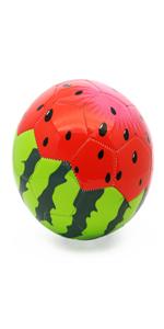 kids soccer ball football watermelon ball size 3 children students boys girls toddlers outdoors