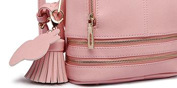 Women PU leather School bags