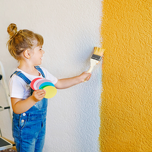paint brush for wall
