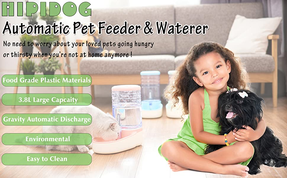 Automatic Pet Feeder and Waterer