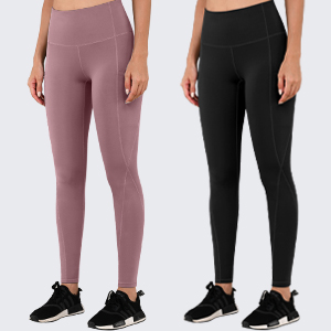 Pink & Black yoga