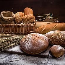 bread made using yeast