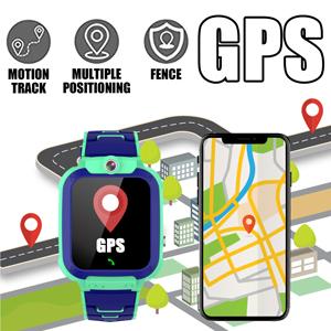 Kids GPS Watch phone Smartwatch map GPS tracker boys girl gift birthday childrens day gift toys