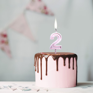 numeral candles
