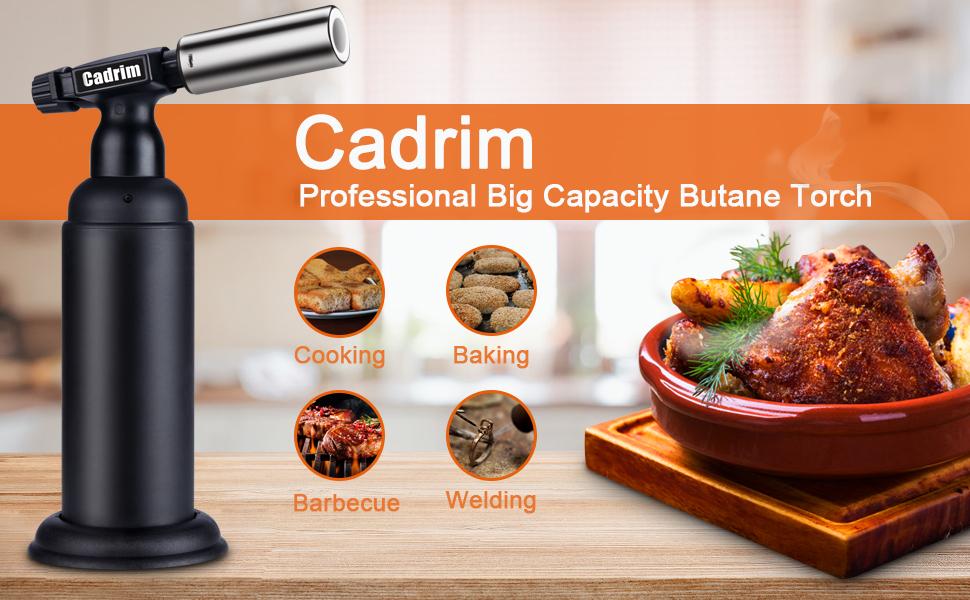 Cadrim Big Butane Torch Refillable Industrial Butane Torch