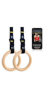 Gymnastic Rings Set
