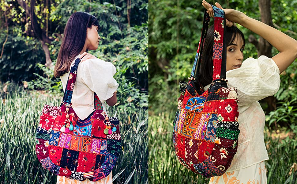 Colorful Tote Shoulder Bag