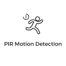wireless camera motion detection
