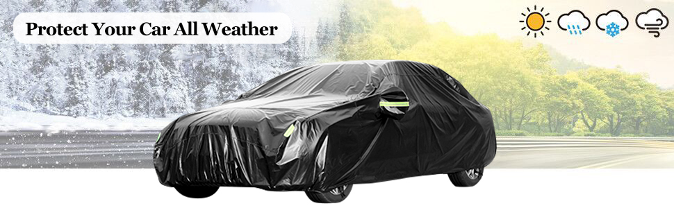 Toyota Yaris Universal Water Resistant Medium Car Top Cover