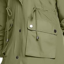 thick fleece jacket with pocket