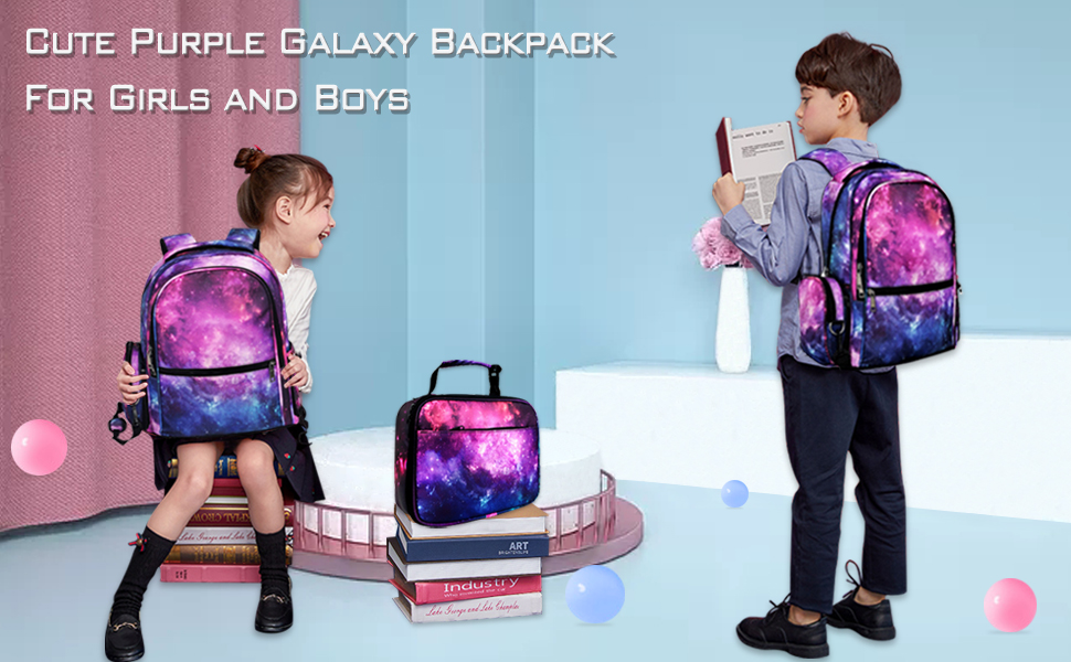 galaxy backpack for school