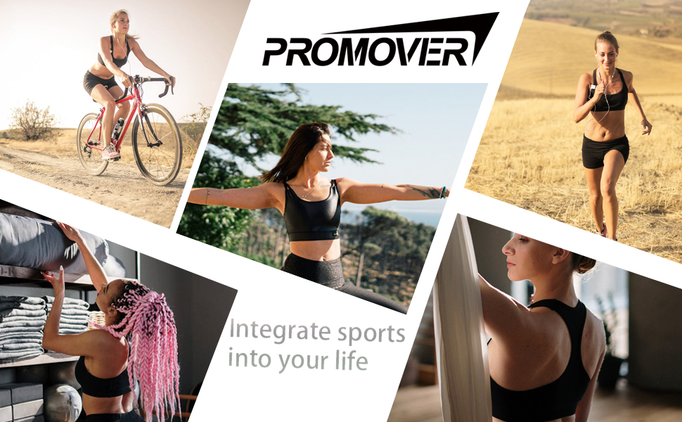Promover Sports Bra High Support