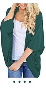 green summer cardigan