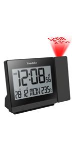 Radio Control Projection Clock
