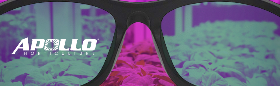 apollo horticulture grow light glasses are designed for all day comfort and all-around protection