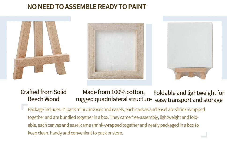 foldable tabletop easel mini