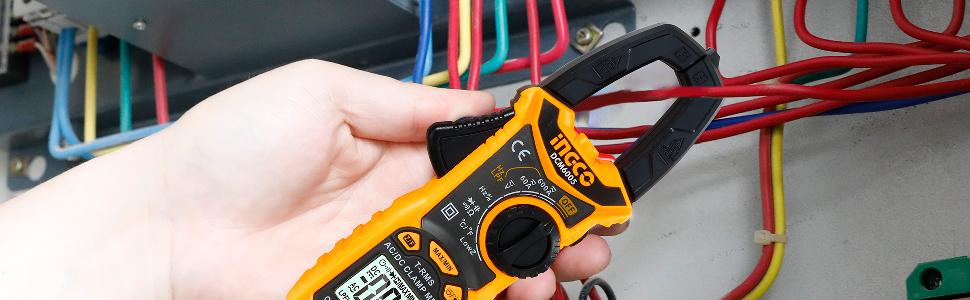 DC/AC clamp meter