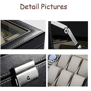 watch storage box for men